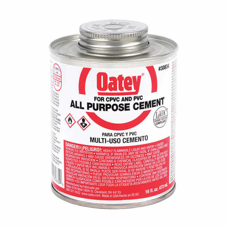 PVC Cement and Cleaner